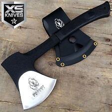 Buckshot Knives Hunting & Camping Axe Hatchet Heavy Duty Steel w/ Plastic Sheath