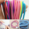 10pcs Spring Protector Cover Cable Line For Phone USB Charging Cable Data Sync