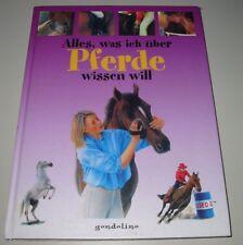 Ratgeber Alles was ich über Pferde wissen will Buch gebraucht Stand 2004!