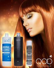 QOD MAX PRIME Brazilian Keratin Straightening Treatment Blow Dry Formaldehydfree
