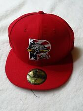 New Era Portland Sea Dogs Minor League 59fifty Fitted Hat Size 7 55.8CM New
