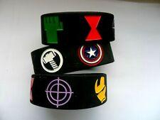 AVENGERS    Silicon // Rubber Wristband // Bracelet