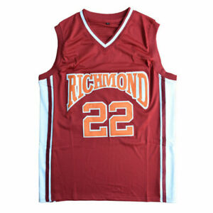 Timo Cruz 22 Richmond Oilers Home Retro Basketball Jersey Double Stitched Jersey