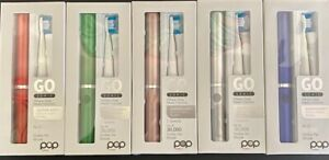 Pop Sonic Go Portable Toothbrushes Battery Operated New In Box