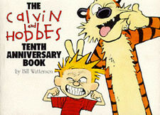 The Calvin and Hobbes tenth anniversary book by Bill Watterson (Paperback)