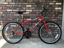 VINTAGE COKE COLA PROMOTIONAL RED 12 SPEED RED MOUNTAIN BICYCLE