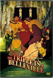 The Triplets of Belleville Region 4 DVD New