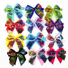 Party&Stage Shining Dog Bow Ties Adjustable for Medium&Large Dog Shining Bowties