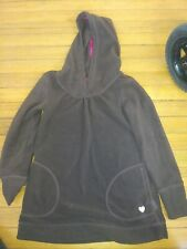 Gap Kids Vintage Hooded Fleece Tunic Brown Size Xl 12
