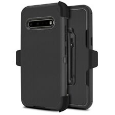 For LG V60 ThinQ 5G Defender Case Holster Fit Otterbox Belt Clip Built in Screen