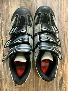 Specialized BG Men's Cycling Shoes Gray Suede US 7.5 Shimano with SPD Mountain