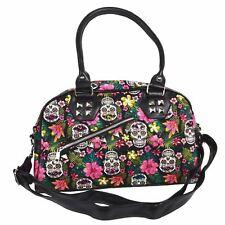 Banned Hibiscus Sugar Skull Bag