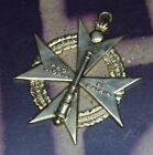 Very Rare WWI/1920's German Field Artillery Cross of Honor Medal H.J Wilm Berlin