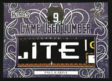 2019-20 Leaf Lumber Kings Game Used Lumber Paul Kariya Stick 5/8