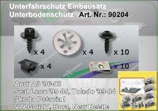 Unterfahrschutz Einbausatz Unterboden Repair Kit CLIPS VW Bora 90204