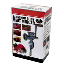 Aluminum Alloy Manual Ground Meat Mincer Grinder Sausage Filler Maker Machine