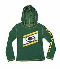 NFL Youth Girls Green Bay Packers Super Hood Long Sleeve Shirt