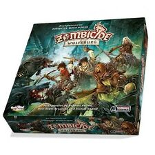 Zombicide - Black Plague Expansion - Wulfsburg Board Game (100% AU Stock)