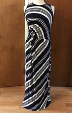 A Pea In The Pod Maternity Long Maxi Summer Fantasia Dress Size Large NEW