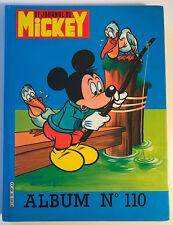 ALBUM LE JOURNAL DE MICKEY n°110 ¤ avec n°1664 à 1673 ¤ 1984 + POSTER