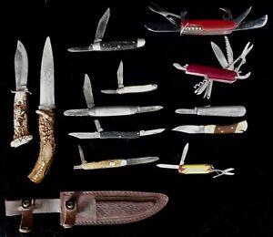 vintage knives lot 12