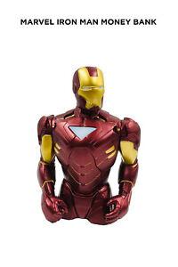 Marvel Iron Man Red Money Bank