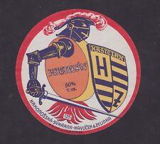 Ancienne  étiquette Fromage Tchécoslovaquie BN44873 Chevalier