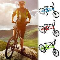 Finger Bicycle Model Mini Light Bike Model Toy for Kids Boys Gift Bara