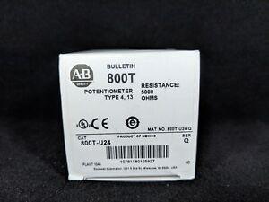 ALLEN BRADLEY 800T-U24 30.5mm Potentiometer Unit, 5000 Ohms Resistive Element