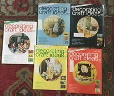 5 lot Vintage 70s decorating & craft ideas Made Easy Magazine