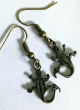 Lizard gecco earrings (P1)