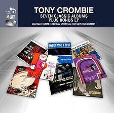 TONY CROMBIE ~ SEVEN CLASSIC JAZZ ALBUMS PLUS BONUS EP - NEW SEALED 4CD SET