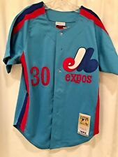 MONTREAL EXPOS TIM RAINES mitchell & ness baseball jersey,nwt,ds,sz. 40,1982