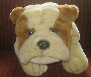 Keel Toys - Cute Bulldog Puppy Soft Toy - Simply Soft Collection 35cms