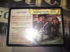 HARRY POTTER TRADING CARD GAME TCG KEEPING DOBBY QUIET 75/140 PROMO MOVIE SEALED