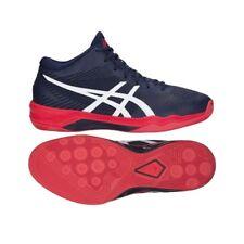 Dettagli su asics ELITE FF MT mid scarpe pallavolo uomo donna volley gialla rossa alta B700N