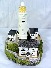 """Danbury Mint """" Start Point Lighthouse """" Very Detailed Building Statue"""