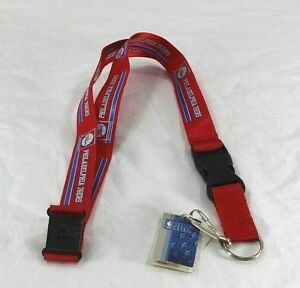 NBA Philadelphia 76ers Red Lanyard Key Chain W/ Detachable Buckle