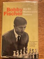 My 60 Memorable Games, Bobby Fischer, 1st US Printing, 1969