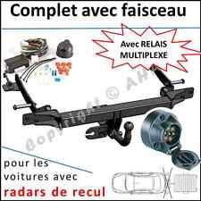 ATTELAGE Honda Accord VIII Tourer 2002-2008 faisceau 7 br relais radars de recul