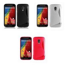 Étuis, housses et coques transparents Motorola Moto G en silicone, caoutchouc, gel pour téléphone mobile et assistant personnel (PDA)