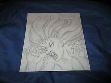 CHEETAH (Wonder Woman) Original Art Sketch by Ramona Fradon