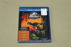 Jurassic World 5-Movie Collection (Blu-ray Disc and Digital Copy) Brand New