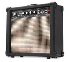 AMPLIFICATEUR GUITARE ELECTRONIQUE 15W GUITAR AMP 2 CANAUX EQ 3 BANDES AUX MP3