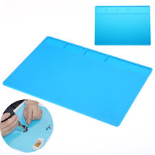 Soldering Repair Maintenance Platform Heat Insulation Silicone Pad Mat 28*20cm