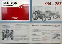 Fiat 666 766 Betriebsanleitung Bedienungsanleitung 1982 Wartung