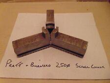 Pratt Burnerd Internal Bore Soft Jaws 250mm Scroll Chuck Machined but Never Used