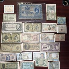 (24) Different Unattributed World Currency Notes