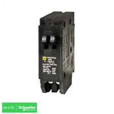 Square D Homeline 2-20A Single-Pole Tandem Circuit Breaker HOMT2020