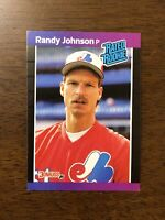 RANDY JOHNSON RC 1989 Donruss Rated Rookie Rookie Card #42 Montreal Expos HOF